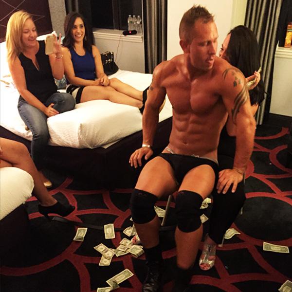 Part time male stripper matt david